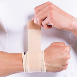 Elastic Wrist Support with Strap