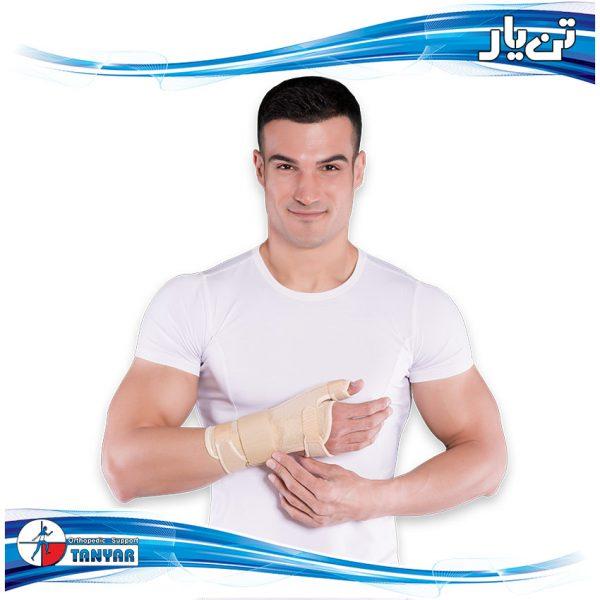 Elastic Wrist Thumb Support2